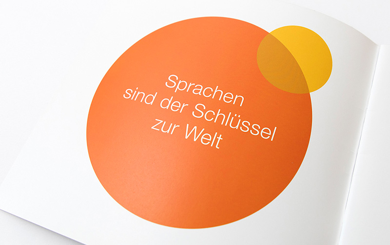 Petra Zimmerer, Büro für Gestaltung, Bayerischer Volkshochschulverband Broschüre