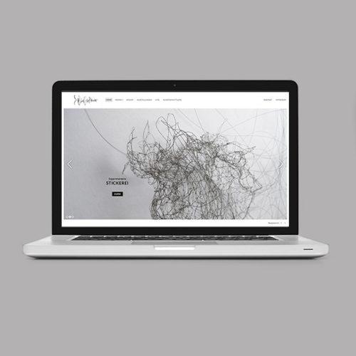 Petra Zimmerer, Büro für Gestaltung, Webseite, responsive, Wordpress, Sabine Neubauer, Werkübersicht, Katalog, Design by pz