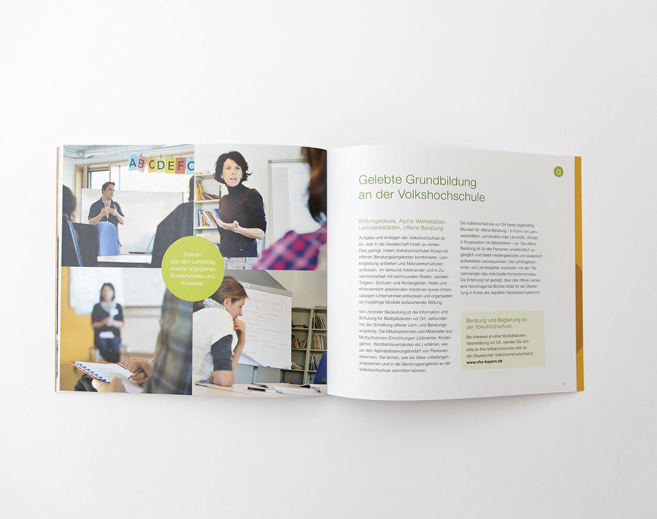 Bayerischer Volkshochschulverband Broschüre Grundbildung