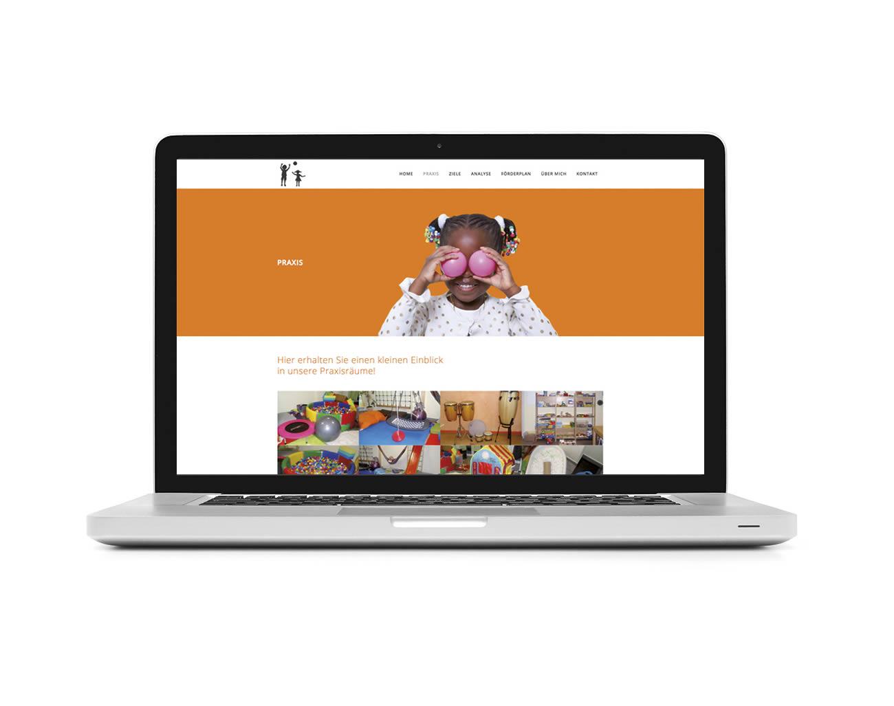 Petra Zimmerer, Büro für Gestaltung, Heilpädagogik Pommer, responsive, Webseite, Wordpress, Design by pz