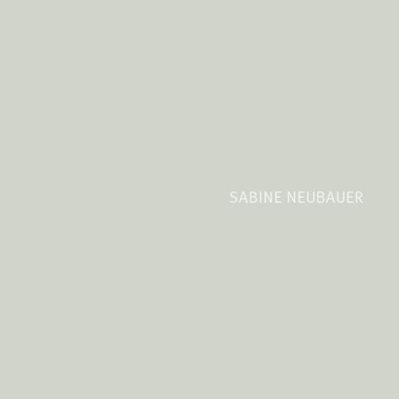 Petra Zimmerer, Büro für Gestaltung, Print, Werkbericht, Sabine Neubauer. Kunstkatalog