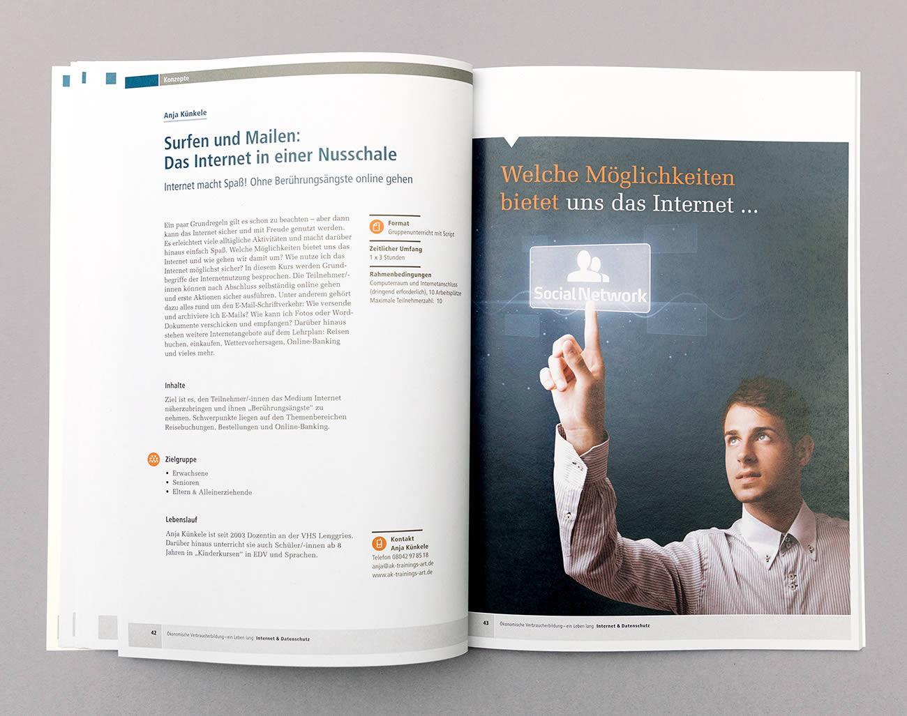 Petra Zimmerer, Büro für Gestaltung, Editorial, Datenschutz, Bayerisches Staatsministerium für Verbraucherschutz, Broschüre