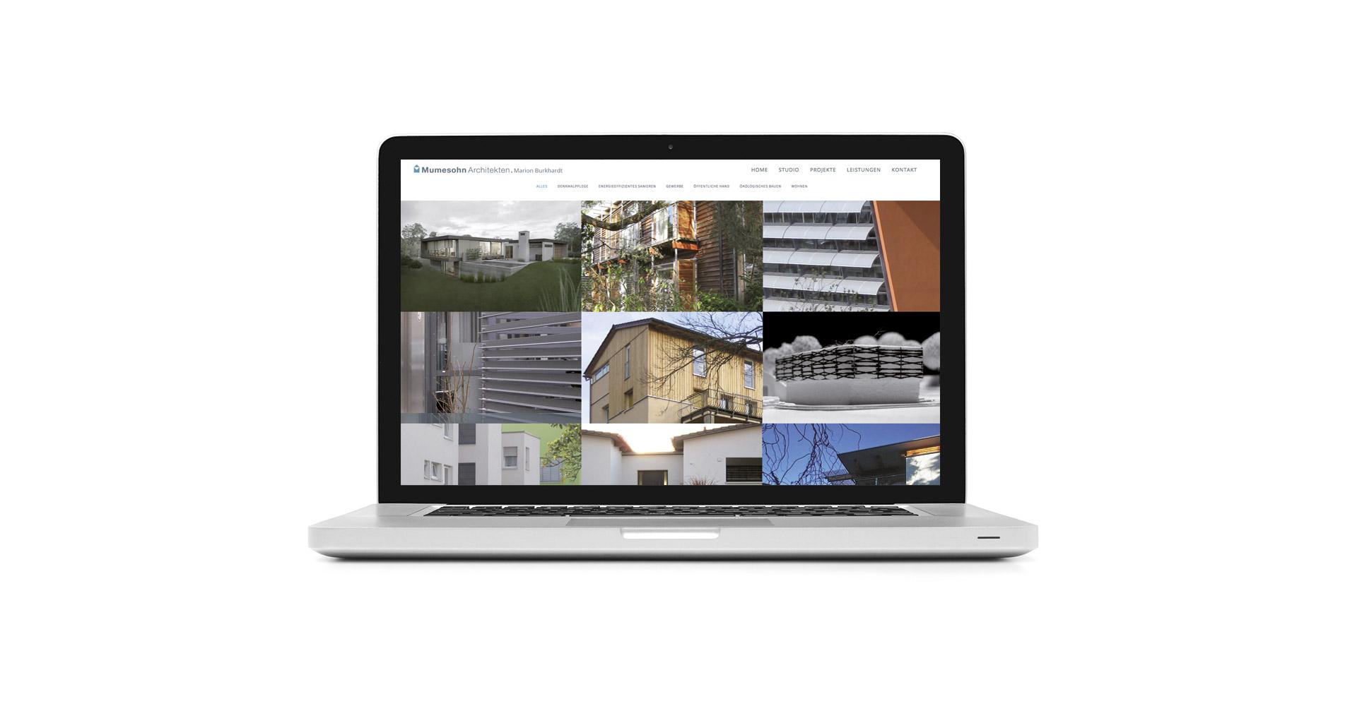Mumesohn Architekten, Marion Burkhardt. Webseite